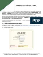 Guia de Utilização Do Carep-mte Infoc