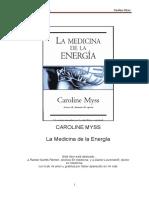 Medicina Energética La Medicina de La Energía-Caroline Myss