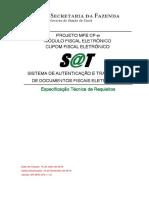 Especificação Técnica Requisitos ER MFE CFe 110