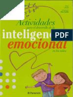 Atividades Emoções - 1º ciclo