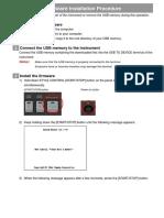 Yamaha PSR-S970S770A3000 Firmware Installation En