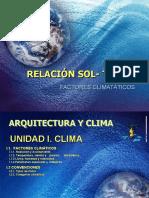 2 RELACIÓN SOL- TIERRA CLASE 2