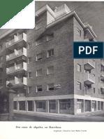 Quaderns 1954-N.17_dos Habitatges de Lloguer