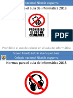 Normas para el aula de informática 2018 s.pptx