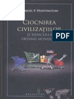 Samuel Huntington Ciocnirea Civilizatiilor