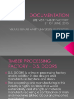 Documentation - Timber Factory(5 June 2015)