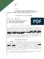 Sentencia absolutoria de la Audiencia Nacional de K.P.L.