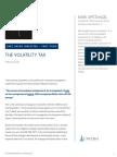 Universa Mark Spitznagel Volatility Tax