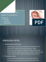 Fisiologi Fetus Dan Plasenta