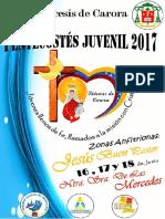 Afiche Pentecostés 2017
