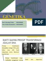 GENETIKA PRESENTASI