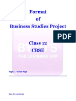 FormatofBusinessStudiesProject