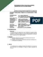 Plan de Trabajo de Actividades 2016 Del III Ciclo de La Carrera