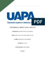 Tarea # 2 Economia Por Marcelino Lora