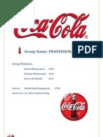 Term Report Coca Cola