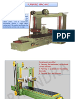 Planing & Milling