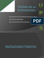 Teorias de La Restauracion 1-6