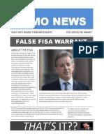 FISA Scandal Summary