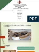 Conservacion de Cadaver a Base de Glicerina
