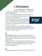 Scrum Glosary