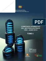 Bolivia Compendio Normativo Del Sector Electrico TOMO 1