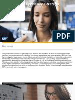 SAP UX Strategy