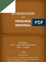Introducción a La Psicologia Industrial
