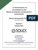 Manual de enfriador SOLEX