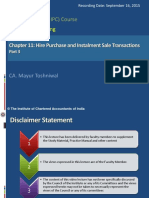 S-2 Hire Purchase and Instalment Sale Transactions Part 3