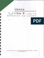 Estudio de Suelos Alfonso Uribe