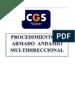 15. Procedimiento Andamio Multidireccional CGS