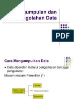2 Pengumpulan Dan Pengolahan Data 1