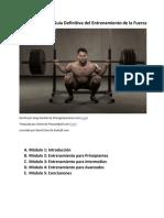 Audiocurso 1 - La Guía Definitiva Del Entrenamiento de Fuerza
