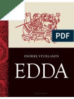 Snorre Sturlasson Edda