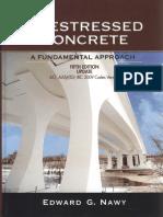 Prestressed Concrete, A Fundamental Approach, 5th Ed, Nawy