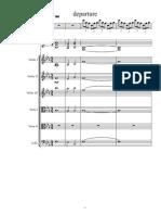 Departure Finale-Partitura y Partes-1