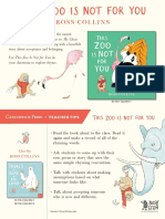 This Zoo Is Not for You by Ross Collins Teacher Tip Card