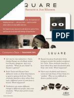 Square by Mac Barnett & Jon Klassen Teacher Tip Card