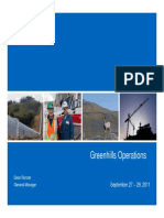 Greenhills Operations
