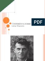 Conferencia Ludwig  Wittgenstein