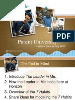 parent university presentation  1