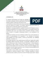 Projeto Pedagogico Curso Historia UFPA Braganca 2017 Em Avaliacao
