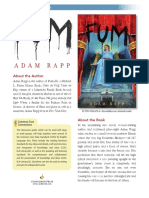 Fum by Adam Rapp Discussion Guide