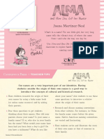 Alma and How She Got Her Name by Juana Martinez-Neal Teacher Tip Card
