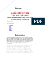 Liste Lecture UdeM