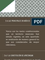 Historia del Constitucionalismo en México