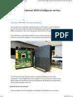 Router Fiber Gateway MEO_Configurar Serviço No-ip