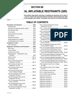 Daewoo Matiz Airbag Wiring Diagram | Wiring Diagram on
