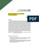 Ética informática en la sociedad de información.pdf