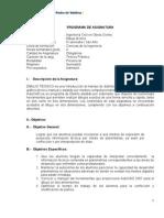 Programa de Dibujo Tecnico UPV-C-Rivas